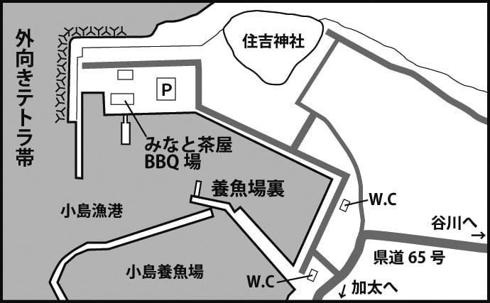 攻略法付き関西アジングポイント徹底ガイド:小島漁港【大阪・泉南】