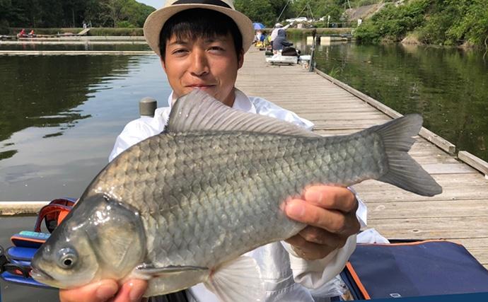 ヘラブナ釣り初心者入門 底釣りで管理池攻略!(第3回)
