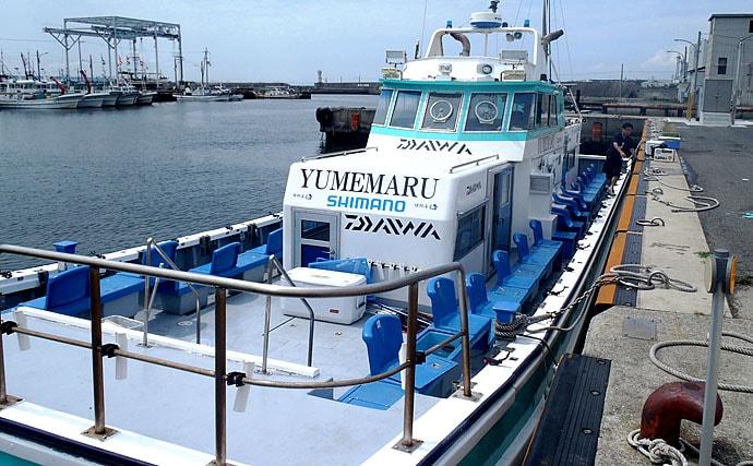テンヤタチウオで119cm頭に良型揃い 『夏の陣』開幕!【夢丸】