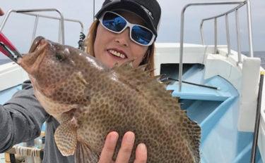 【愛知県】沖釣り釣果速報 SLJで良型根魚にドラゴンタチウオ7本!