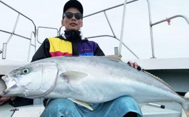 【福岡県】SLJ&タイラバ釣果速報 30分の格闘で15kgヒラマサ
