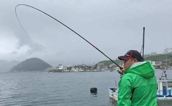 ダンゴ釣りで47cm頭クロダイ2尾 魚影の濃さ再確認【静岡・沼津】
