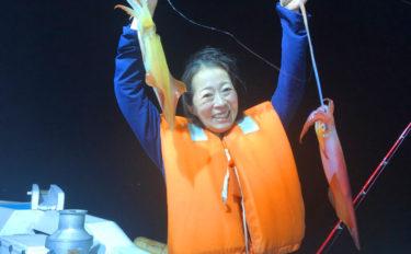 【福岡県】夜焚きイカ釣果速報 船中約700尾に1人で100尾超えも