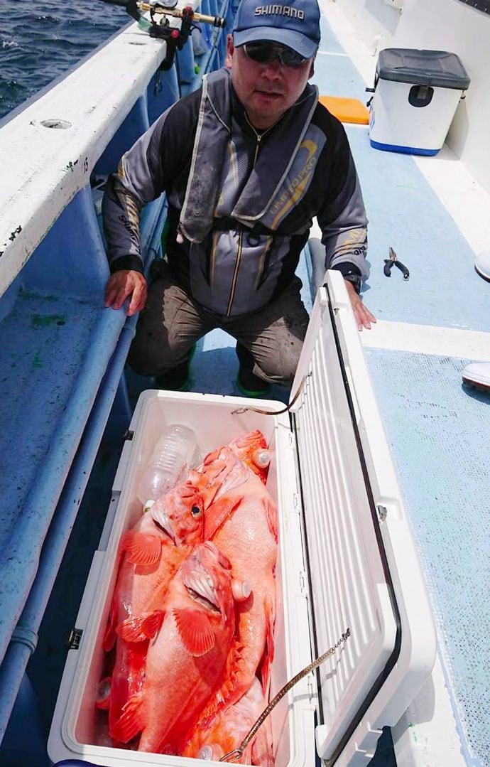 【茨城県・千葉県】沖釣り釣果速報 抱卵イサキ規定数にメヌケやヒラメ