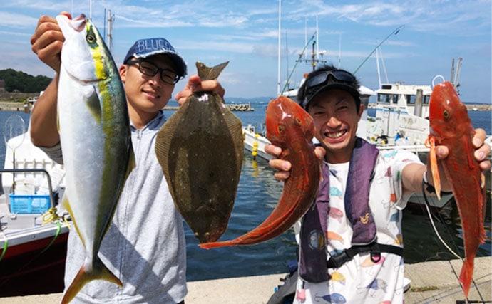 【愛知県&三重県】沖釣り釣果速報 マダイにヒラメにウナギまで