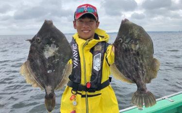 関東の夏カワハギ釣り上級者攻略法2選 『モタレ』と『抑え込み』