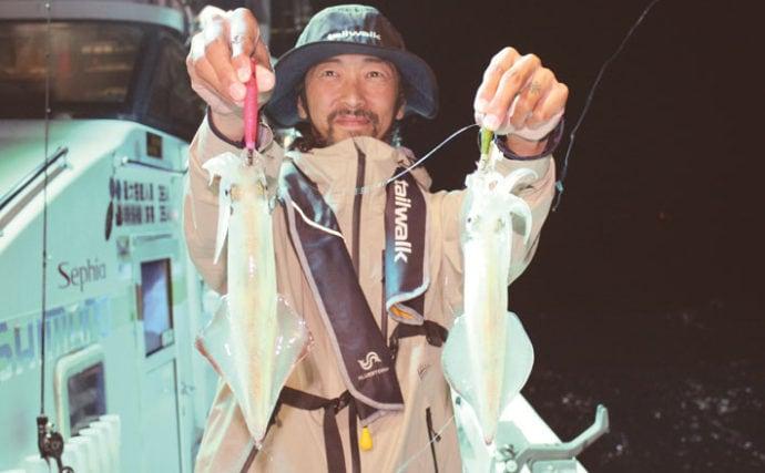若狭湾イカメタル徹底解説 タナ変動のメカニズムと良型マイカの狙い方