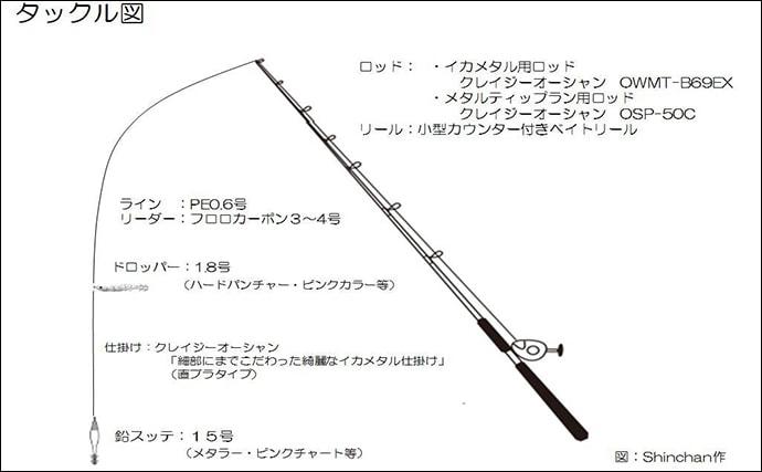月夜の低活性を『乗せ』のイカメタルで攻略 マイカ50杯!【福井】