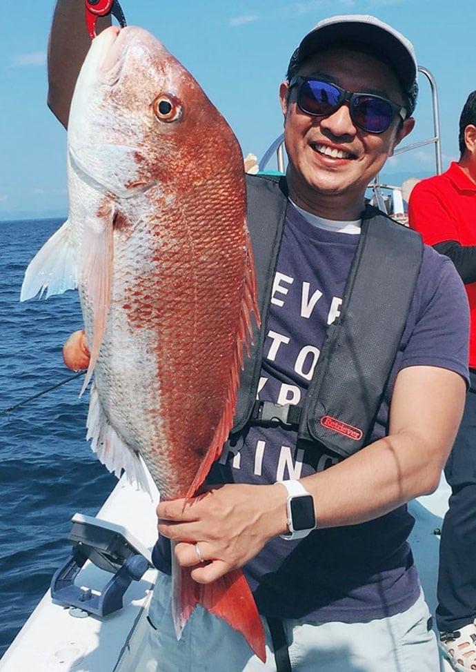【福岡・熊本】SLJ&タイラバ釣果速報 大ダイに良型アカハタ入れ食い