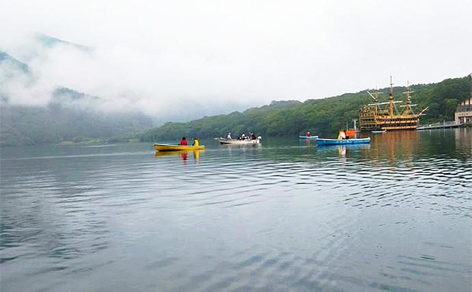 ボートワカサギ釣りで良型77尾 実は夏も好機!【神奈川・芦ノ湖】