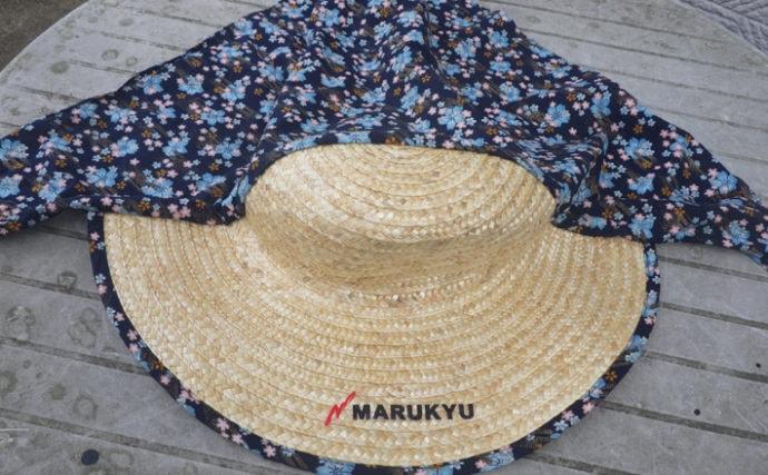 釣りライターが勧める『熱中症予防』4選 農業用おばさん帽がマスト?