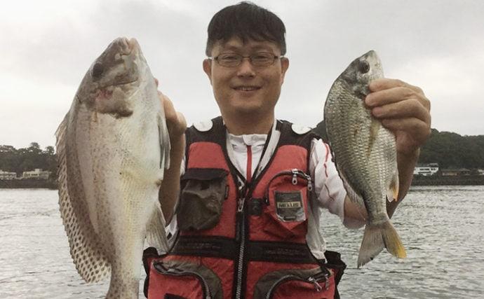 投げ釣りでコロダイ&キビレ登場 干潮前後が狙い目【高知・種崎海岸】