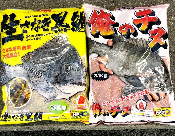 波止からのフカセ釣りでチヌ5匹 ボラ回遊が釣れる前兆?【大阪府・岸和田】
