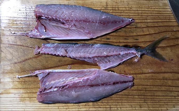 【釣果レシピ】キズシ(しめ鯖):酢への漬け込み時間はお好みで