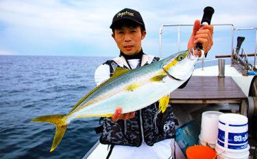三国~鷹巣沖SLJでヒラマサ連発 スリリングなファイトを堪能【福井】