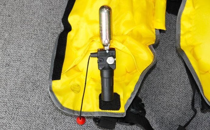 膨張式『ライフジャケット』メンテナンス解説 洗浄・保管・点検について