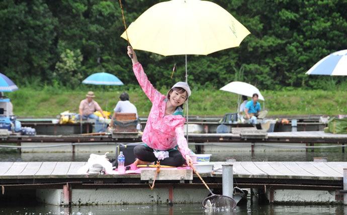 宮崎まこの一期一景♪IQ高めのヘラブナに挑戦【茨城県・友部湯崎湖】