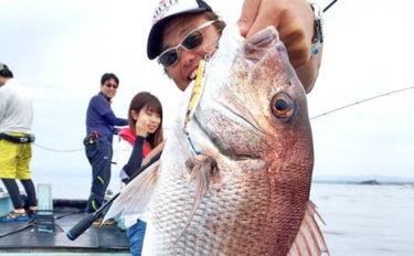 【三重県】沖釣り釣果速報 良型マダイやアマダイにハタ類も好調!