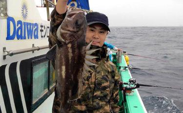 イシナギ試釣レポート 茨城沖100m以浅がポイント!【モンロー号】