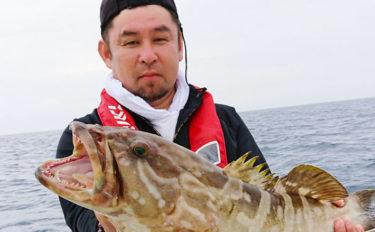 【福岡県】落とし込み&泳がせ釣り釣果速報 12kgアラにヒラマサ!