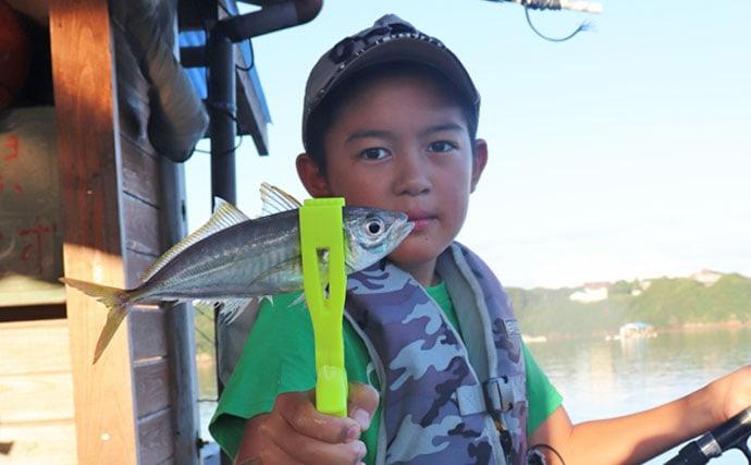 ファミリー釣行に最適の『屋形イカダ』で楽しむ五目釣り【西尾渡船】