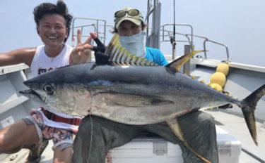 【愛知・三重】沖釣り釣果速報 キャスティングでキハダマグロキャッチ