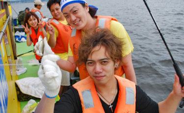 東京湾LTアジで入れ食い堪能 仲間とワイワイ釣行にも好適【荒川屋】