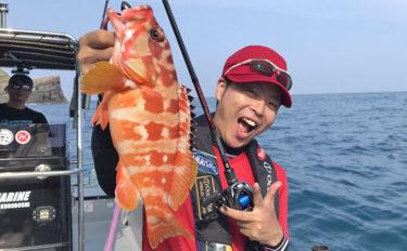 東北ハードロックスタイルでアカハタに挑戦 鹿児島県甑島遠征釣行!