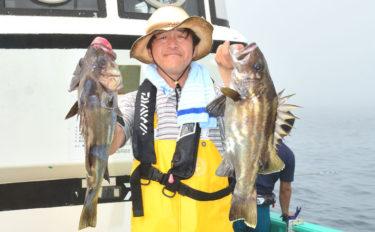 最大2mにもなる大型魚『イシナギ』 専門船を実釣取材【モンロー号】