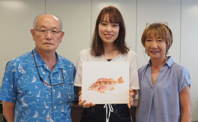 《夏休みオススメ》沖メバルの美術魚拓に初挑戦 自由研究にも最適!
