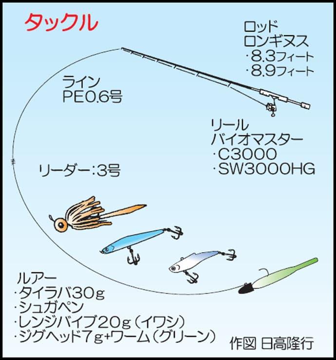 夏のイカダ(筏)シーバスゲームのすすめ 足場良く360度ポイント!