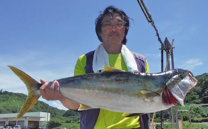 【九州エリア】キハダマグロ&ヒラマサ&ブリのオフショア釣果速報