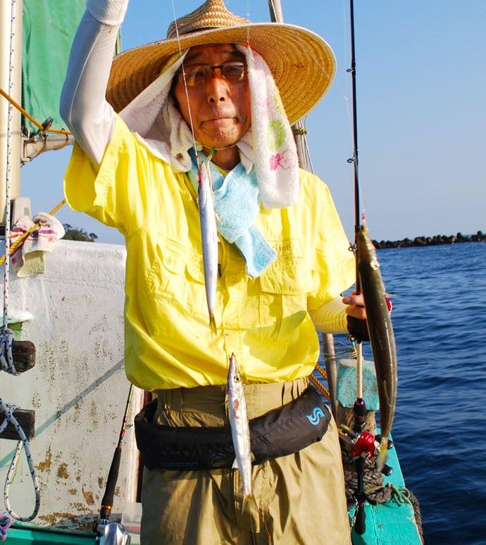カマス&アマダイのリレー船で6点掛けパーフェクト【千葉県・柾木丸】
