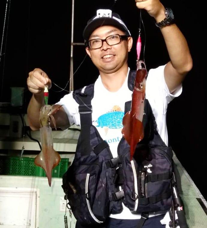 【大分県】沖釣り釣果速報 ジャンボイサキに指10本級ドラゴンタチウオ