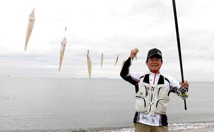 投げキス釣りで夢の3ケタ達成のための5つの方法 秋口が数釣り最盛期