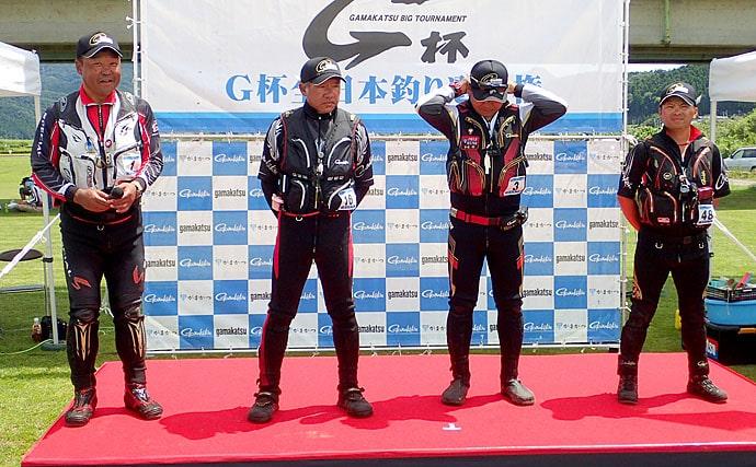 全日本アユ釣り選手権レポート 入れ掛かりで楠本選手がV2【九頭竜川】