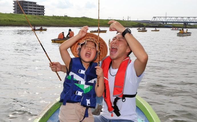 8歳の女の子が人生初のハゼ釣りへ挑戦 親子3代でのんびりボート釣行