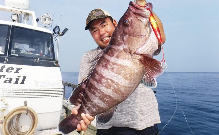 【九州地方】ジギング&タイラバ釣果速報 マハタにヒラマサなど大型乱舞