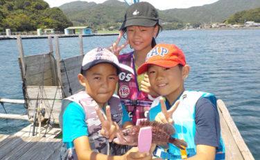 小学生アングラー大興奮のイカダ五目釣り取材レポ【三重・日乃出屋】