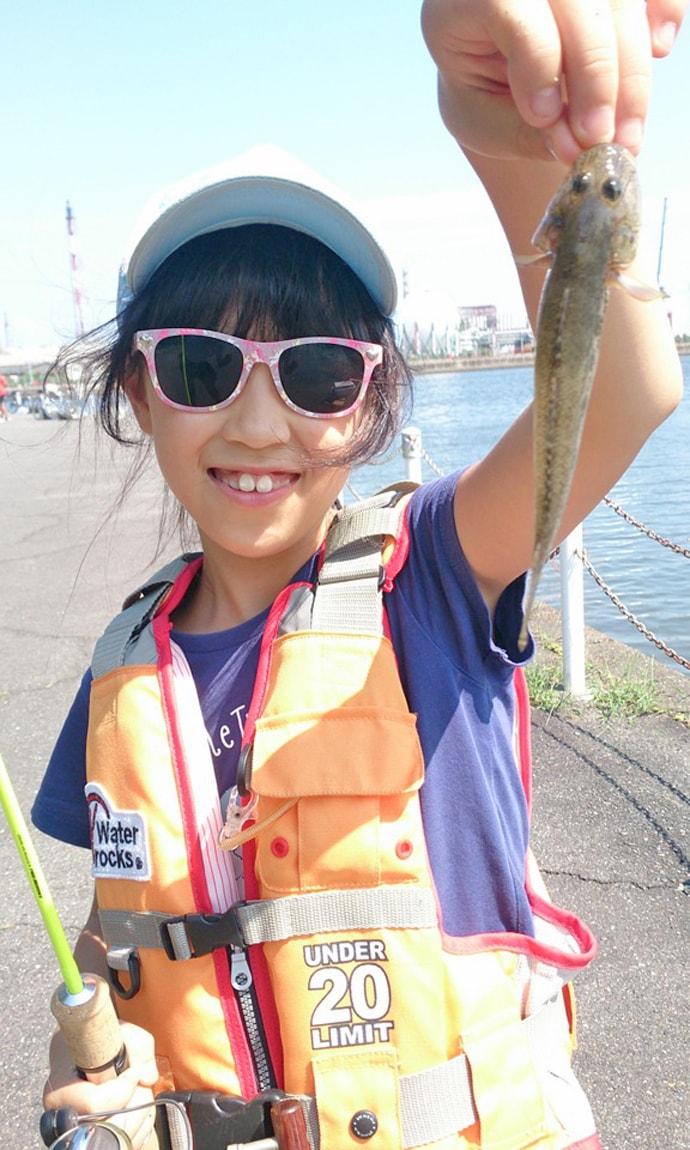 2時間のエサハゼ釣りで本命34匹 シーバスも登場【三重・霞ケ浦ふ頭】