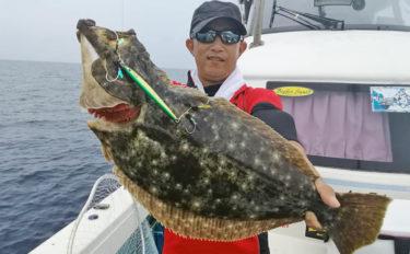 【福井県】沖釣り釣果速報 完全フカセでヒラマサにジギングでヒラメ!