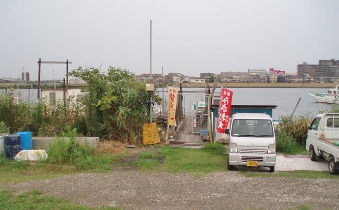 都心からアクセス良好の桟橋でハゼ釣り 93尾の好釣果【江戸川放水路】