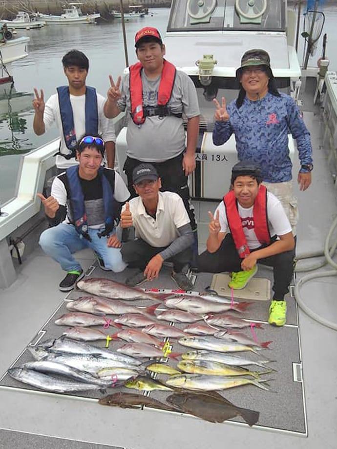 【大分県】沖釣り釣果速報 キンメダイ7連掛けにジャンボイサキも好調