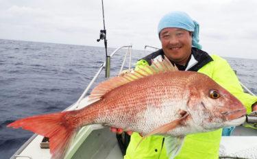 【福岡・響灘】タイラバ&SLJ釣果速報 マダイ5kgや良型数釣りも