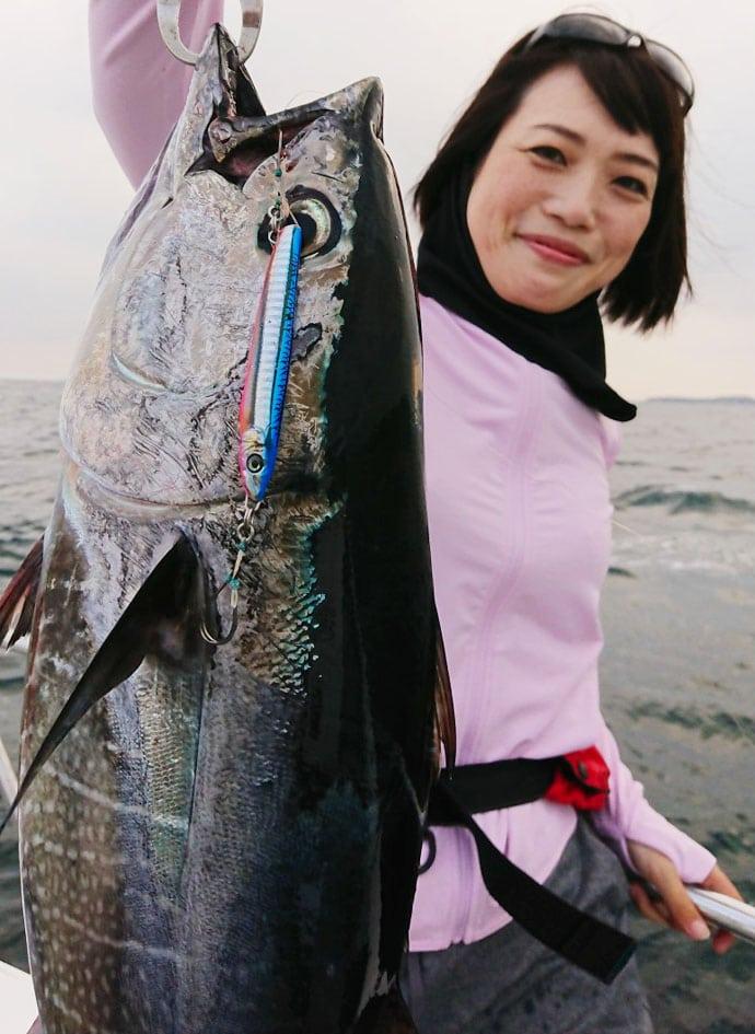 SLJでマグロの若魚『ヨコワ』がヒット!【ガイドサービスセブン】