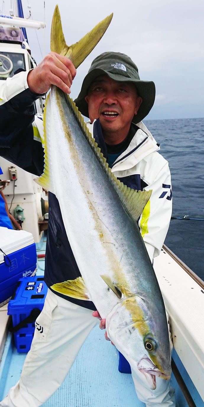 【響灘】落とし込み&泳がせ釣果速報 95cm大ダイに105cm大マサ