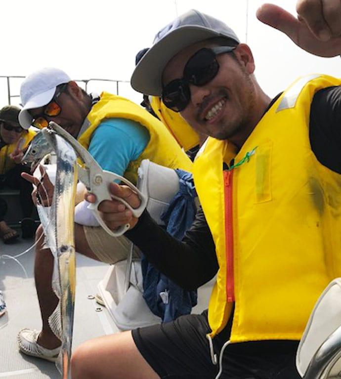 伊良湖沖で人生初ジギング ナブラ発生でテンションMAX!【愛知県】