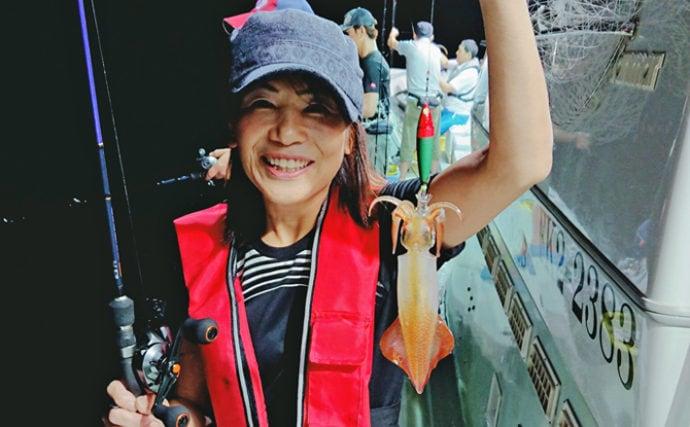 イカメタル初体験者アテンド釣行 低活性に苦戦【ディープオーシャン】