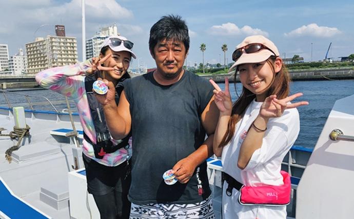 シーズン開始直後のアマダイ船で40cm頭にアマダイ連発【まなぶ丸】