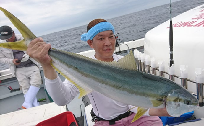 【玄界灘】落とし込み釣り釣果速報 メーター超ヒラマサなど青物入れ食い